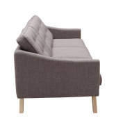 Fine Mod Imports Barsona Sofa, Grey