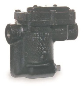 BELL & GOSSETT 404337 HOFFMAN B1125S-3 INVERTED BUCKET STEAM TRAP WITH STRAINER 1.9cm ., 125 PSI