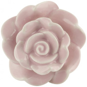 Bombay Duck Vintage Rose Ceramic Cupboard Door Knob - 5.5cm