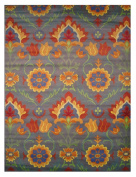 LA Rug Botticelli Abstract Geometric Area Rug (0.6m by 1.2m) 500-04-0204