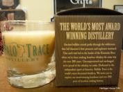 Buffalo Trace Candle and Reusable Rocks Glass - Bourbon Roasted Pecans
