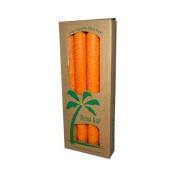 Aloha Bay Palm Tapers Orange - 4 Candles