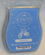 Jammy Time Scentsy Bar Wickless Candle Tart Warmer Wax 90ml, 8 Squares