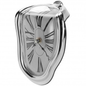 Lopkey Novelty Creative Modern Melting Clock Melted Illusion Warp Clock