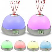 DZT1968® 7 Colours LED Change Star Night Light Magic Projector Backlight Clock
