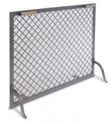 Pilgrim Home and Hearth 18317 Stanton Single Panel Screen, Natural Iron