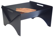 Pilgrim Home and Hearth 18641 Geo Fire Pit , High Temp Black