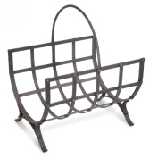 Pilgrim Home and Hearth 18536 Manor Wood Holder, Distressed Bronze