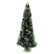 Department 56 Accessory FROSTED SPRUCE TREE 60cm Plastic Christmas Snowy Holiday 52329