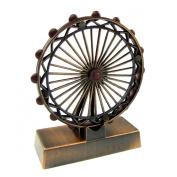 Bronze Metal Replica Ferris Wheel Die Cast Novelty Collectible Pencil Sharpener