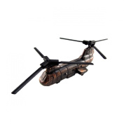 Metal Replica CH-47 Transport Helicopter Die Cast Pencil Sharpener
