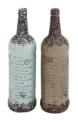 Plutus Brands Ceramic Vase with Natural Polish and Texture 2 Assorted