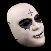 Smays Terrorist Attack of The Purge Role Play Polyresin Face Mask for Halloween, Masquerade, Stage Performance, Carnival and Bar