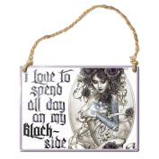 Alchemy Gothic SMALL Hanging Metal Sign Blackside