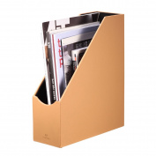 Vlando Home Office PU Leather Organiser Collection Magazine File Organiser Holder, Assorted Colour