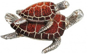 Glazed 2 Brown Coloured Turtles