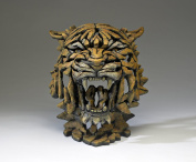 Tiger Bust - Contemporary Sculpture from Edge Sculpture
