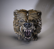 Grizzly Bear Bust - Contemporary Sculpture from Edge Sculpture