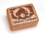 Single Deck Card Box - Dolphins Leap