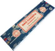 Satya Sai Baba Classic Nag Champa Agarbatti Boxed Incense Sticks [100 g - Brown]