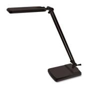 Ledu Desk/Task Lamp, 5w Led, Adjustable Head, 38cm H, Black