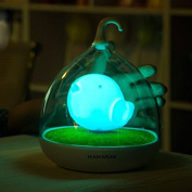 Decor Hut Childrens, Toddler and Baby Bird Night Light, Blue Blinking Option or Just Stay on ,Led Lights with Usb Charger Included! No Wires Needs to Be Plugged or Batteries Frequently Changed! Soft Light Comforting to Help Your Baby Fall Asleep Faster ..