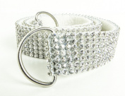 Silver Mesh Clear Chaton Curtain Tieback rope ribbon Chaton Crystal effect BLING Made In UK By VARSANY