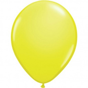Standard Colour Balloons, Yellow, 11, Package of 100