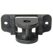 Roman Shade Cord Idler Pulleys 2.5cm X 7cm Black