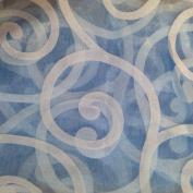 Edal Fashion Floral Tulle Voile Door Window Curtains Drape Panel Sheer Scarf Valances Blue