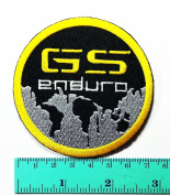 3 Patch BMW Gs GSA ADV Motorcycles Motorrad Racing Biker Jacket T-shirt Polo Patch Iron on Embroidered Badge Sign Emblem Costume
