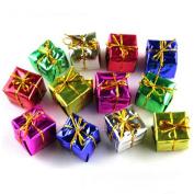 Lookatool® 12PC Fashion Christmas Tree Ornaments Decorations