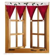 Lookatool® Door Window Drape Panel Christmas Curtain Decorative Home