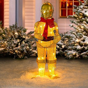 Star Wars Tinsel C-3PO with Scarf
