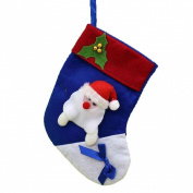 Lookatool® Christmas Gift Socks Modelling Candy Bag Santa Claus Stocking Bag