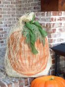 Flora Decor 80cm Burlap Pumpkin