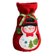 Yoyorule 1 PC Christmas Snowman Gift Candy Bag Creative Present Home Accessory