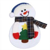 Yoyorule Christmas Snowman Tableware Cutlery Sets