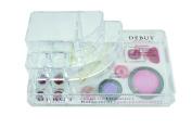 Danielle Enterprises Debut Medium Acrylic Cosmetic Organiser, Clear