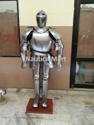 mediaeval WEARABLE KNIGHT CRUSADOR FULL SUIT OF armour COLLECTIBLE armour COSTUME