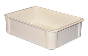 MFG Tray 8020085269 Toteline Stacking Container, Glass Fibre Reinforce, Plastic Composite, 42cm x 29cm x 12cm , White