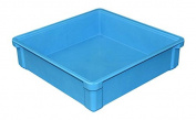 MFG Tray 8170085268 Toteline Stacking Container, Glass Fibre Reinforce, Plastic Composite, 44cm x 44cm x 11cm , Blue