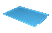 MFG Tray 8870085268 Lid for Stacking Containers 870008, 880008, Glass Fibre Reinforce, Plastic Composite, 70cm x 45cm , Blue
