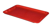 MFG Tray 7805185280 Lid for Nest and Stack Container 780508, Glass Fibre Reinforce, Plastic Composite, 60cm x 37cm x 2.9cm , Red
