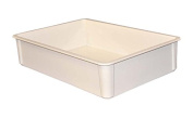 MFG Tray 8800085269 Toteline Stacking Container, Glass Fibre Reinforce, Plastic Composite, 70cm x 45cm x 15cm , White