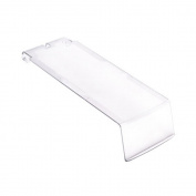 Quantum Storage System Ultra Series Clear Covers For Use With Qus224 Ultra Stack And Hang Bin Pack of 12