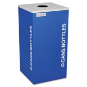 EX-CELL KAISER LLC RCKDSQCRYX Kaleidoscope Collection Recycling Receptacle, 90.8l Royal Blue