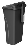 United Solutions WB0258 All-in-One 37.9l (37.9l) Wastebasket with Dustpan and Brush