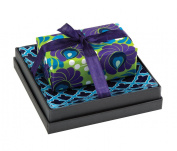 Mudlark Handcrafted Soap Bar and Dish Gift Set, Sweet Lime/Issa