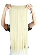 Sexybaby Clip in Hairpieces Extensions 140G High Synthetic Fibre 70cm Straight with 5 Clips